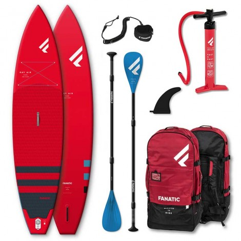 Fanatic SUP Ray Air Pure Set Red ED