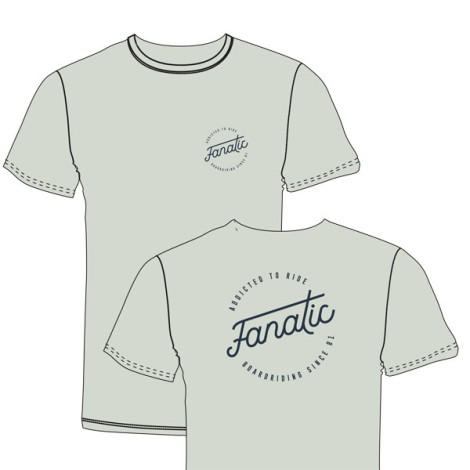 Fanatic T-Shirt Boarderiding Light green