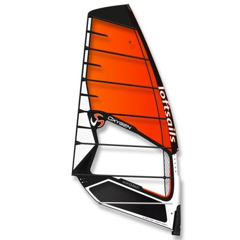 Loftsails Oxygen Freerace Orange