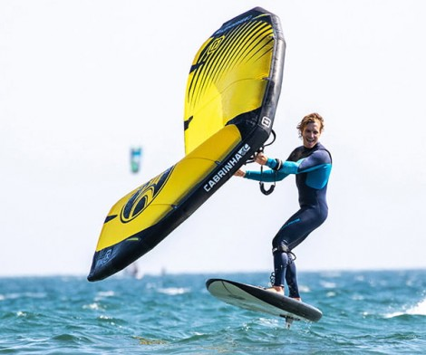 Cabrinha Crosswing 4.0 beim Wing Surfen