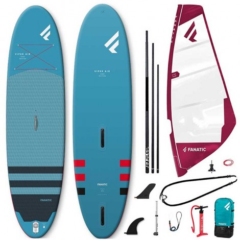 Fanatic Viper Air Windsurf + Ride Rig