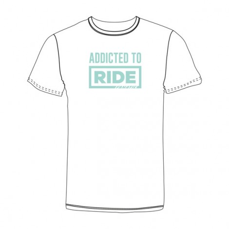 Fanatic Girls Shirt Addicted To Ride