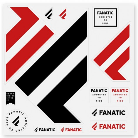 Fanatic Logo Sticker Sets