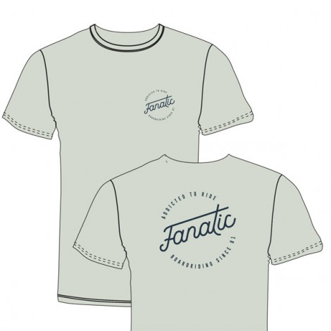 Fanatic T-Shirt Boarderiding Light green