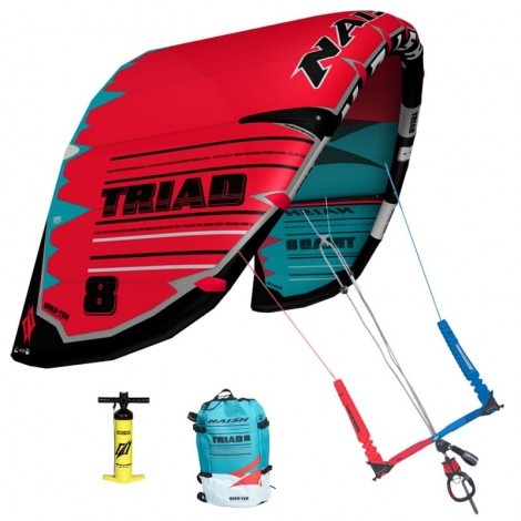 Naish Triad Freeride Kite Rot