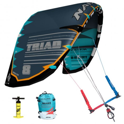 Naish Triad Freeride Kite Grey