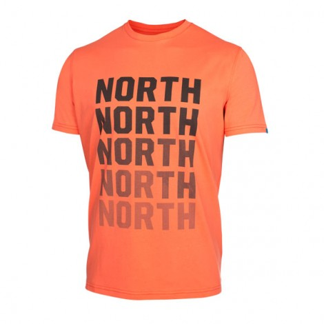 North Kite Tee SS Fade Orange